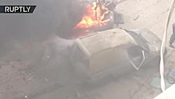 انفجار خودرو انتحاری د...