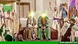 ( حضرت خدیجه س و تولد حضرت فاطمه زهرا س ) سخن گفتن ایشان با مادر در شکم ایشان و