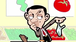 مجموعه انیمیشن طنز مستربین - تدی در فروشگاه