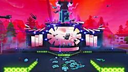 کنسرت بزرگ مارشمالو در fortnite