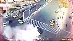 دوربین مخفی تصادفات و تعقیب و گریز پلیس با راننده های مست