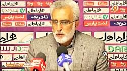 نشست خبری مهاجری و فرکی پس از بازی ماشین سازی تبریز و پیکان