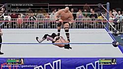 مجموعه گیم پلی بازی کشتی کج 2016 (WWE 2K16) قسمت 5