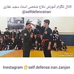 دفاع شخصی خیابانی بانوان_رهایی موی سر