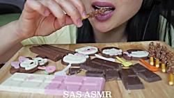چالش خوردن شکلات