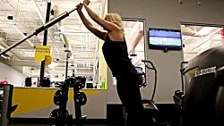 ورزش تی آر ایکس در خانه - آموزش حرکات قدرتی و کششی trx برای داشتن بدنی زیبا