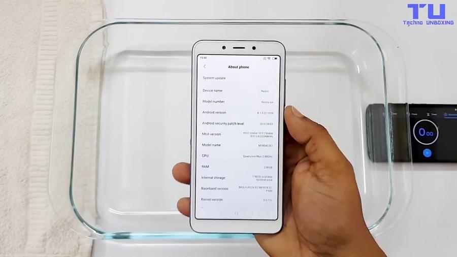 Xiaomi Redmi 6A Water Test!