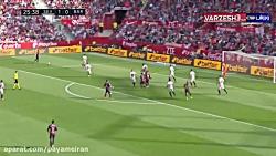 خلاصه بازی سویا 2 - بارسلونا 4