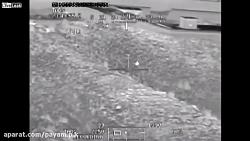 بالگرد آپاچی در هنگام عملیات در افغانستان