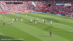 خلاصه بازی بارسلونا 4 -2 سویا