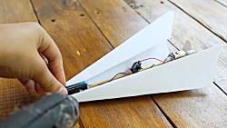 مهارت پرندهای کاغذی:موتور برای موشک کاغذی!