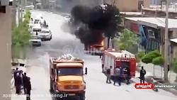 انفجار خودرو در شهر
