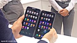 ویژه MWC2019: گزارش از گوشی LG V50 ThinQ در نمایشگاه