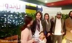 ویدئوی زنده از مراسم دورهمی و عکاسی با بازیگران سریال لحظه گرگ و میش