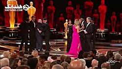 اسکار ۲۰۱۹: لحظهٔ اهدای جایزهٔ بهترین فیلم به «کتاب سبز»