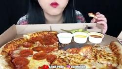 چـالش غذا خوردن (پیتزا) ★دنبالـ=دنبالـ★