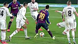 خلاصه بازی رئال مادرید و بارسلونا ۱_۲