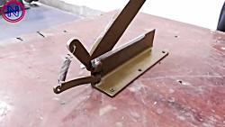 Powerful TOOL ! Sheet Metal Bench Shear | ...