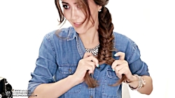 آموزش بافت و شینیون موی مجلسی - 4 مدل آرایش مو - شینیون