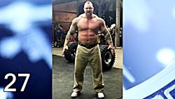 تحول بدن قویترین مرد دنیا Thor Björnsson