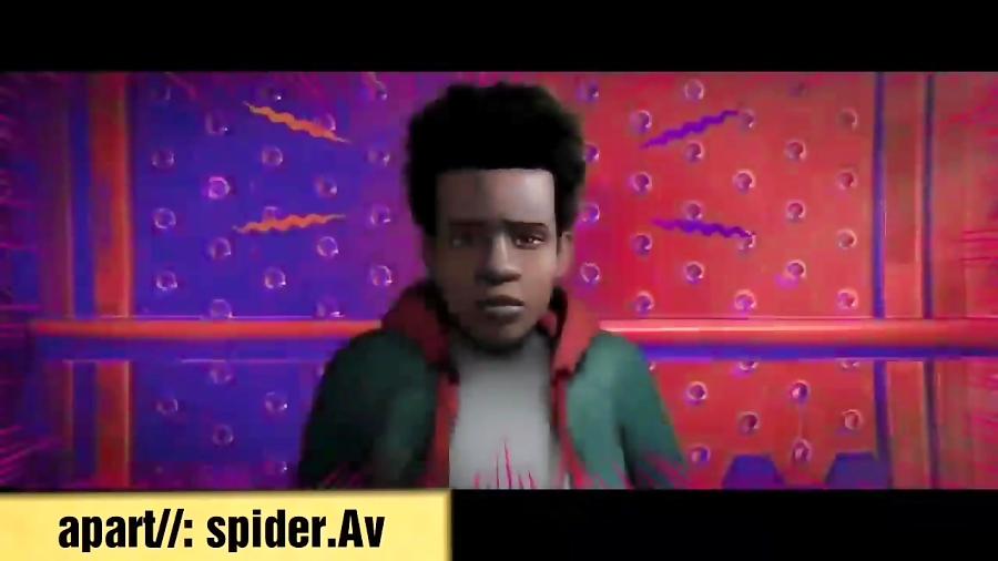 برنده بهترین انیمیشن سال ۲۰۱۹ مرد عنکبوتی به سوی دنیای عنکبوتی