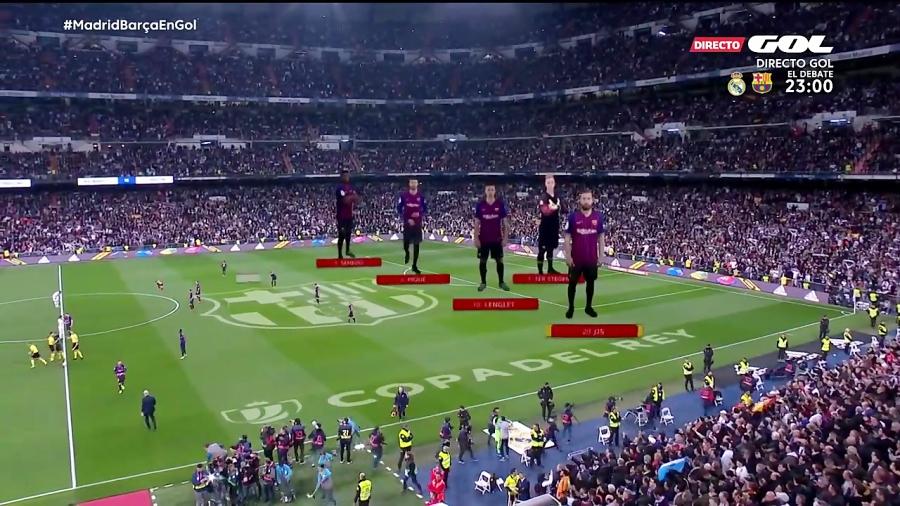 خلاصه بازی رئال مادرید 0 - بارسلونا 3 - صعود بارسلونا به فینال جام حذفی