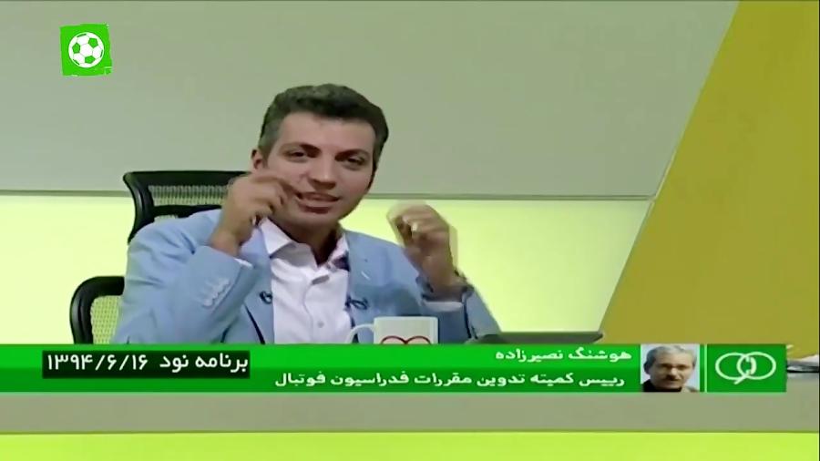 حواشی نقل و انتقالات لیگ برتر در تاریخ برنامه نود - برنامه نود ۶ اسفند