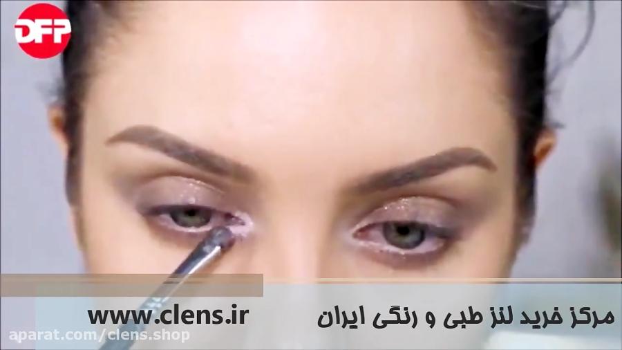 آموزش آرایش با کانسیلر در بهار | خرید لنز رنگی | clens.ir