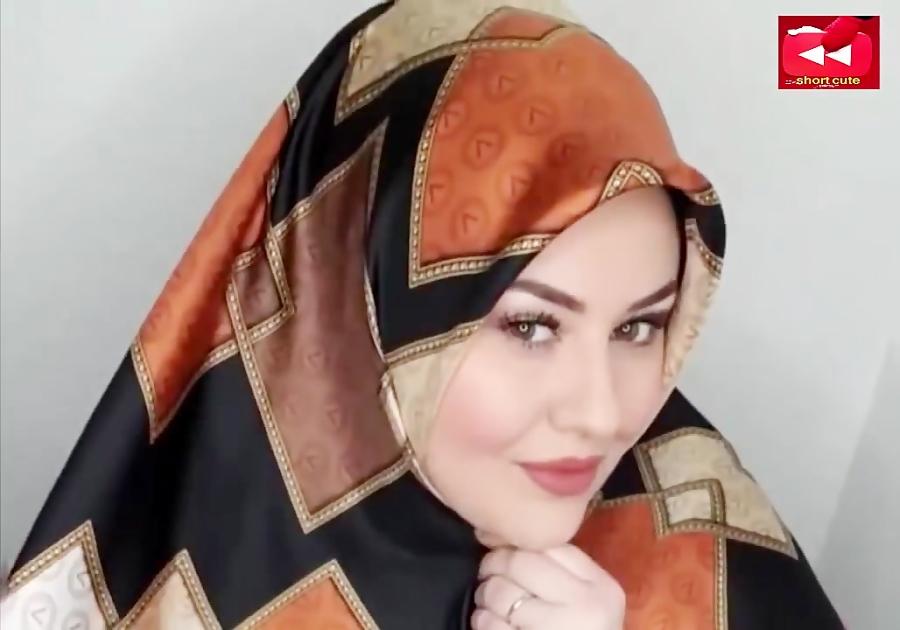 مدل و ایده زیبا و شیک بستن روسری