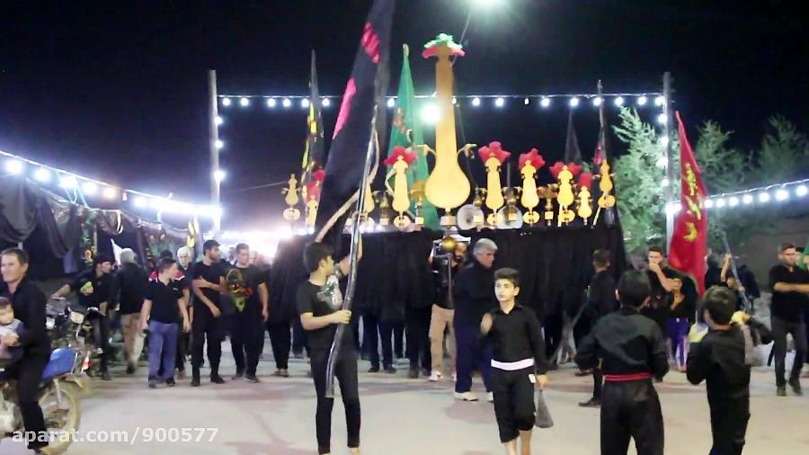 مداحی با نوای غلامعلی صیدی هیئت زنجیرزنان مسجد امام حسین (ع) کوی قلعه سید