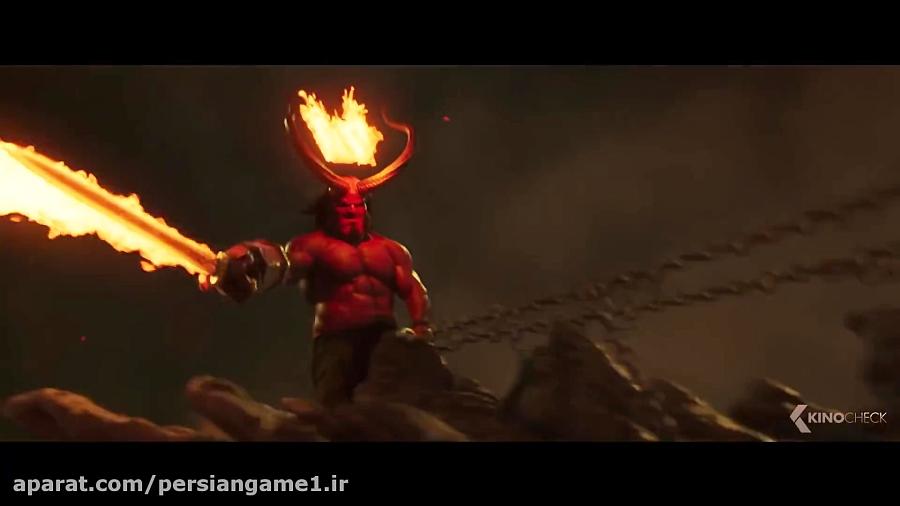 دومین تریلر فیلم Hellboy 2019