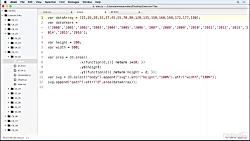 دانلود آموزش D3.js - ایجاد یک مقیاس خطی