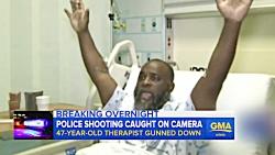 شلیک پلیس آمریکا به پزشکی که در حال کمک به بیمار بود!