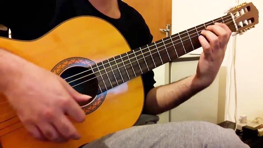 آموزش ریتم و آرپژ 4/4 گیتار