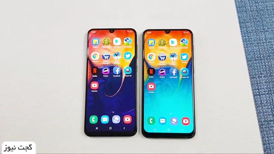 مقایسه سرعت عملکرد و تصاویر ثبت شده  Galaxy A50 و A30 - گجت نیوز
