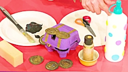 کاردستی کودکان  سکه طلا