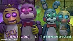 Toy bonnie x toy chica Bonnie x chica