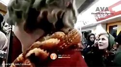 زنان بی حجاب در خیابان های ایران در روز جهانی زن
