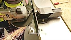 Powerful TOOL !!  Sheet Metal Bench Shear ...