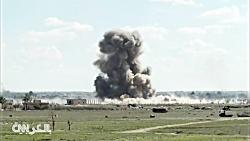 محاصره داعش در شرق سوری...