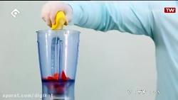 آموزش تهیه نوشیدنی توت فرنگی و لیمو ترش