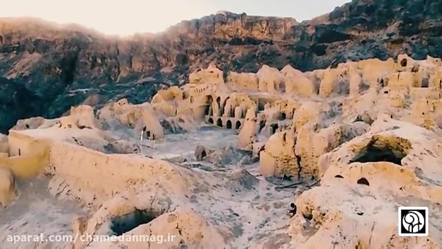 نمای دیدنی از کوه خواجه زابل