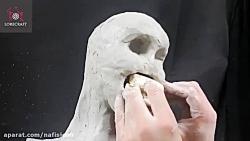 ساخت مجسمه batman demon