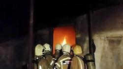 آتش سوزی گسترده و مرگبار در کارگاه مبل سازی