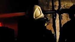 آتش سوزی مرگبار در کارگاه مبل سازی