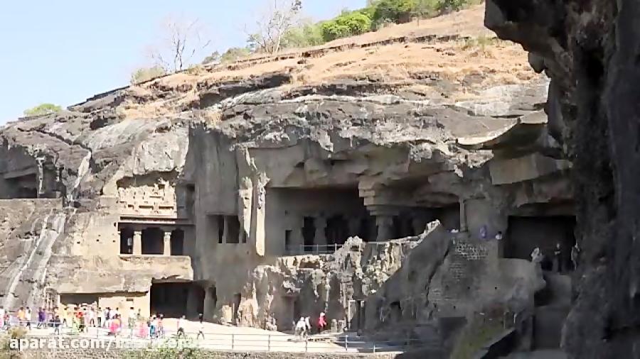 غار های الورا ( اورنگ آباد )