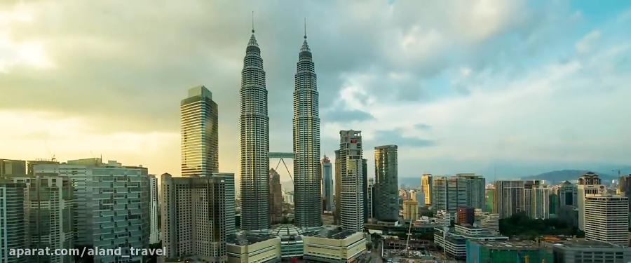 یک دقیقه در کوالالامپور