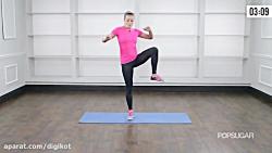 ورزش بانوان، حرکات نرمشی سریع برای آب کردن چربی ها