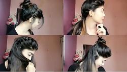 آموزش بستن مو به شکل مجلسی و کاملا حرفه ای در10دقیقه مریم اسکندری