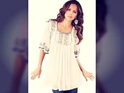 مدل لباس - مدل بلوز و پیراهن کوتاه